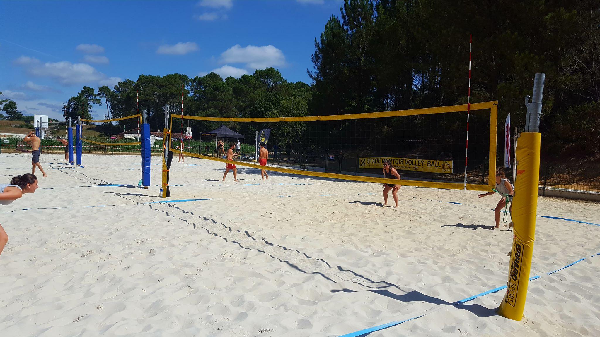 Tournois régionaux de Beach Volley à Ménasse
