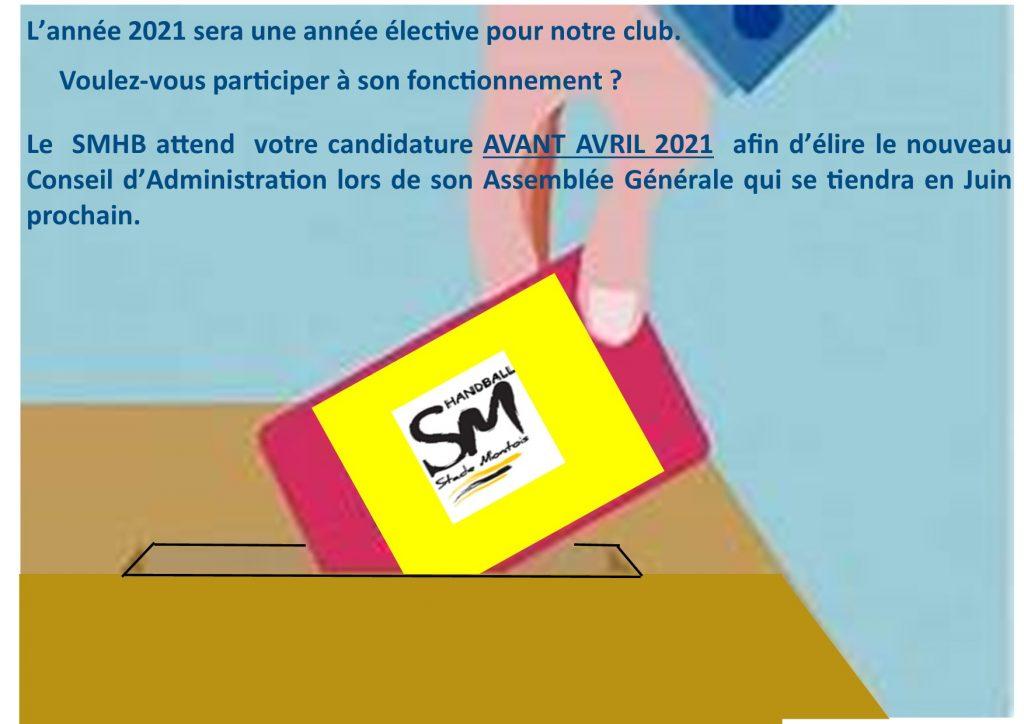 2021 ANNEE ELECTIVE AU SMHB