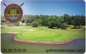 Découvrez la nouvelle carte du golf de Mont de Marsan