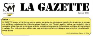 Gazette de janvier