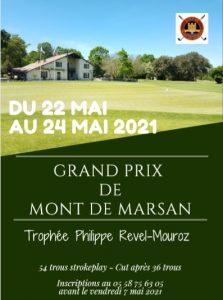 Les inscriptions pour le Grand Prix 2021 sont ouvertes