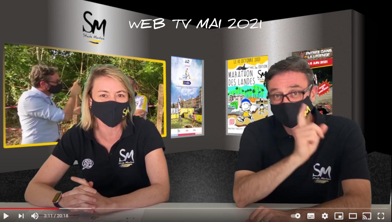 La web tv de mai 2021 est en ligne