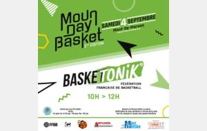 ℹ️ MOUN DAY BASKET 2021 : BaskeTonik ⛹🏽⛹🏼♀️