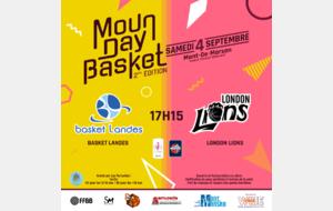 ℹ️ MOUN DAY BASKET 2021 : Le match des Championnes 🏆