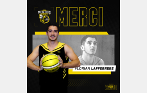 ℹ️ [OFFICIEL Saison 2021/2022] – Florian Lafferrere ℹ️