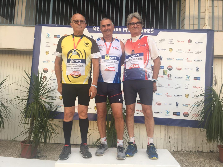 Championnats de France masters Epreuves combinées