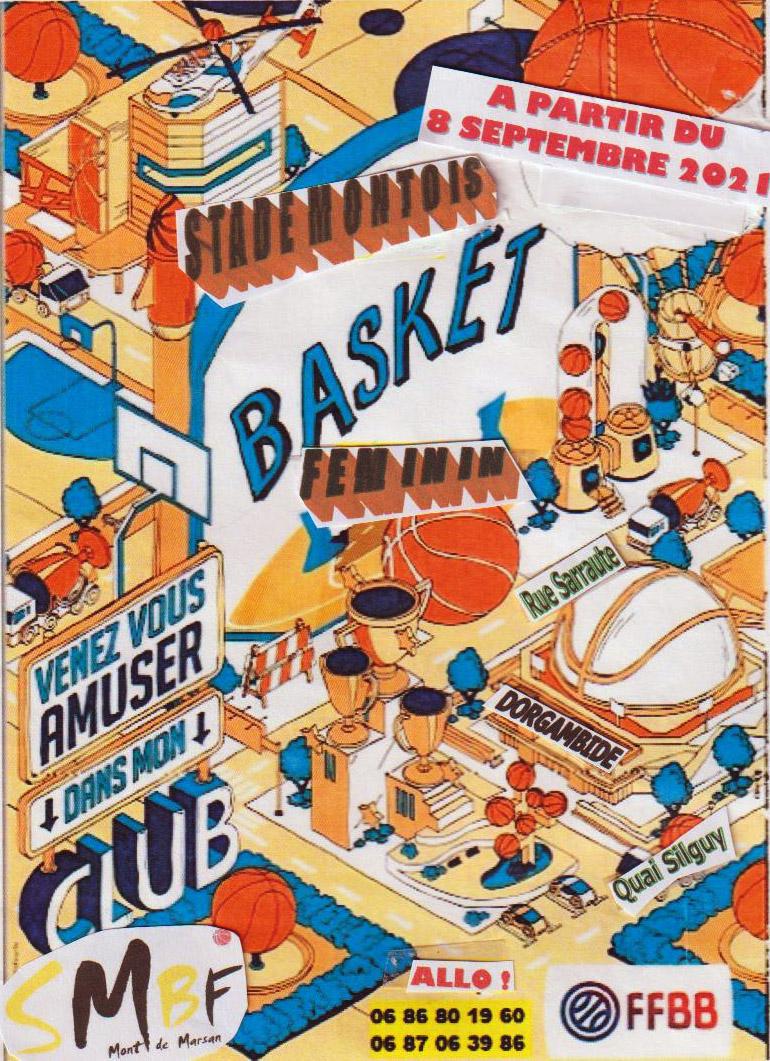 Reprise à l'Ecole de Basket Féminin du Stade Montois