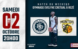 Nationale 2 : Déplacement délicat à Rezé Basket 44